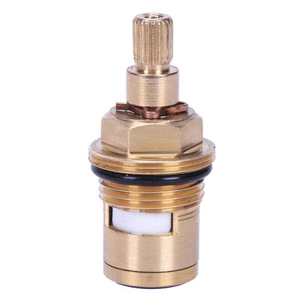 1 pcs Replacement Brass ceramic disc tap valve insert gland cartridge quarter turn