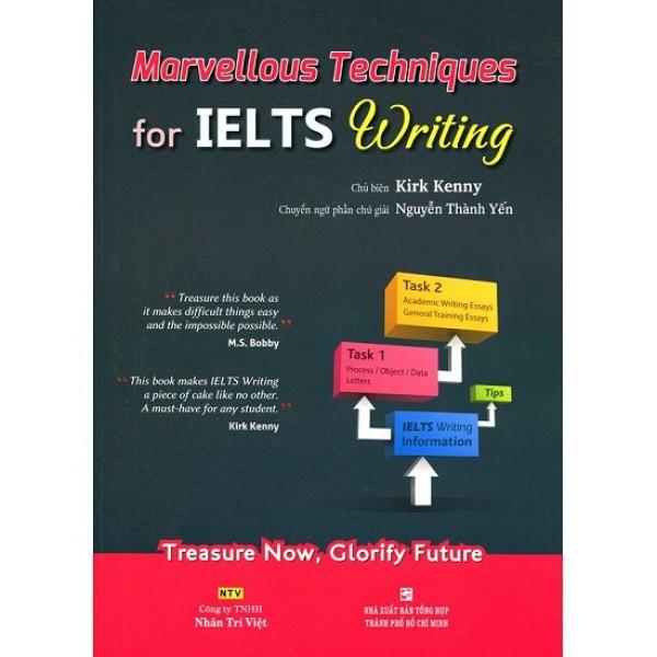 Sách - Marvellous Techniques For Ielts Writing