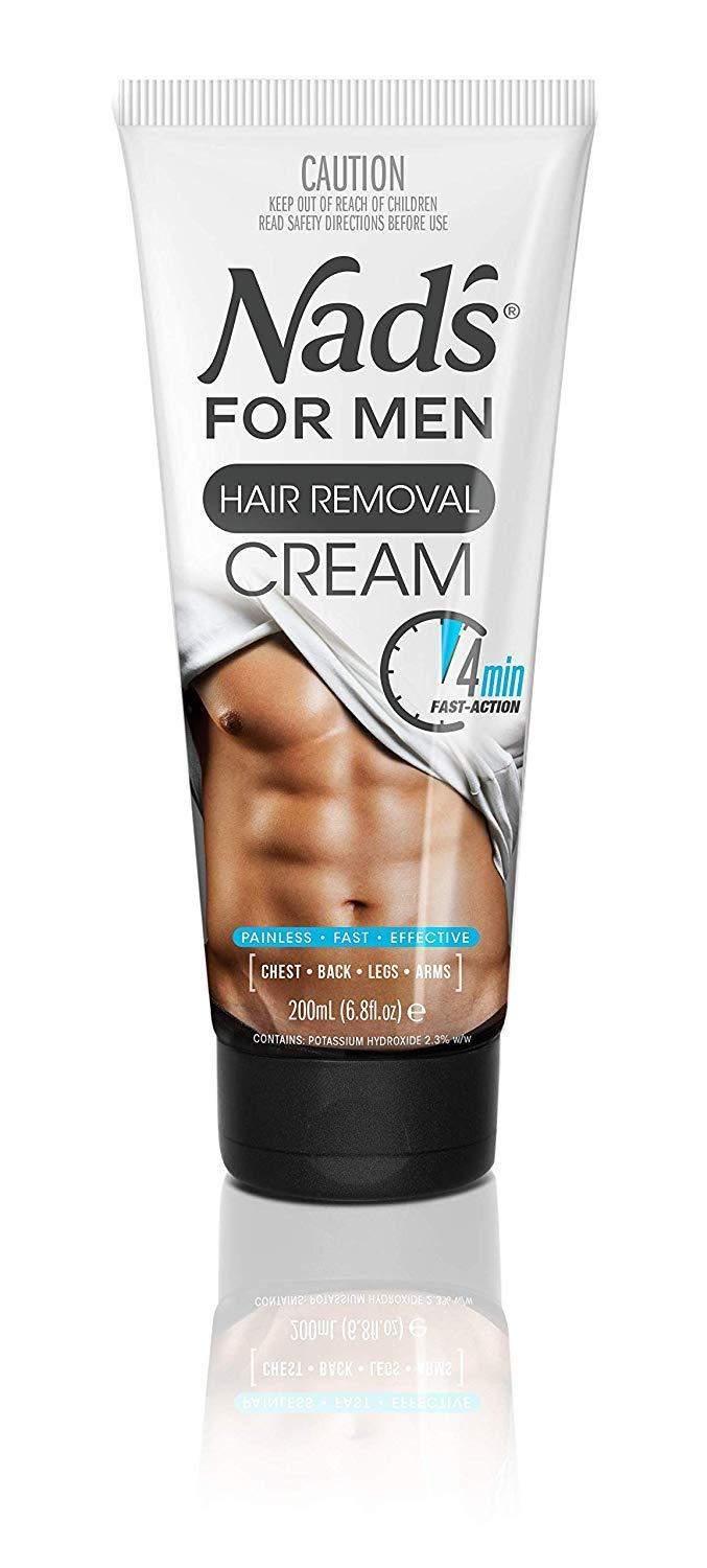 Kem tẩy lông cho nam Nads For Men Hair Removal Cream 200ml