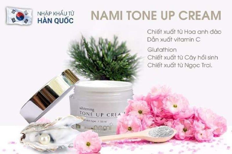 Kem dưỡng trắng Nami Tone Up Cream giá rẻ