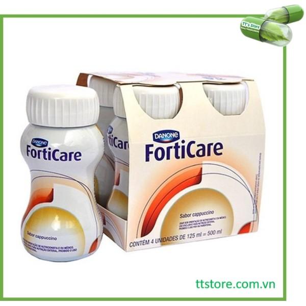 1 lốc (4 chai) FORTICARE - Sữa dinh dưỡng cho bệnh nhân ung thư [foticare]
