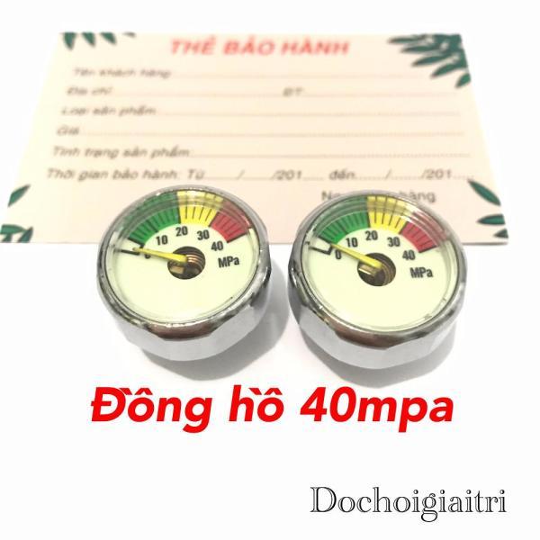 Đồng hồ đo áp suất khí ném 40mpa chân 8mm và 10mm bơm cao áp Thiết kế nhỏ gọn, mang tính thẩm mỹ và độ bền cao