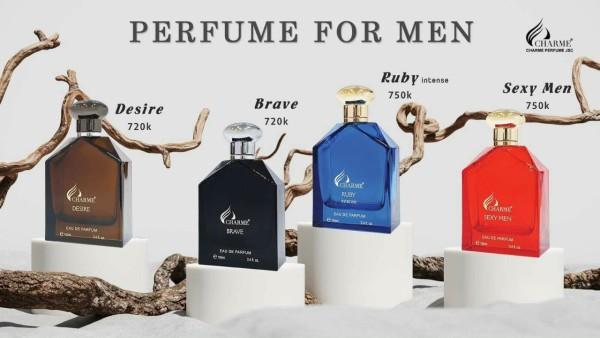 [HCM]( tặng test thử ) Nước hoa Ruby Intense - Sexy men - Brave - Desire 100ml