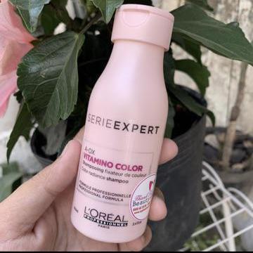 Dầu gội dành cho tóc nhuộm LOreal Vitamino Color Shampoo 100ml giá rẻ