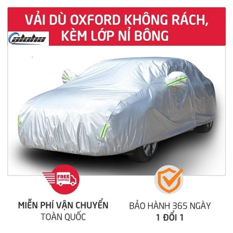 Bạt phủ xe, Bạt phủ xe hơi,áo trùm che phủ xe hơi, xe ô tô phủ nhôm bạc 4 chỗ đến 7 chỗ, lớp phản quang chống nóng, mưa, xước sơn, Polyester Oxford Fabric -BPX