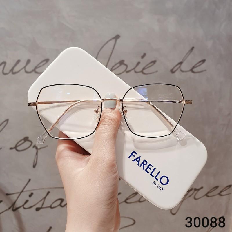 Giá bán Gọng kính cận thời trang  Gọng cận kim loại 30088