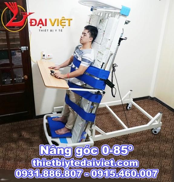 giường bệnh y tế kèm chức năng tập đứng điều khiển bằng điện