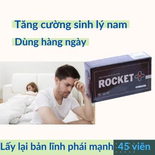 Dưỡng thận hàng ngày Rocket tăng cường sinh lý nam, tăng testosterol, giảm tiểu đêm, đau lưng, mỏi gối-Hộp 45 viên nang Rocket, dùng được 1 tháng[CHE TÊN KHI GIAO HÀNG] An toàn, không tác dụng phụ thumbnail