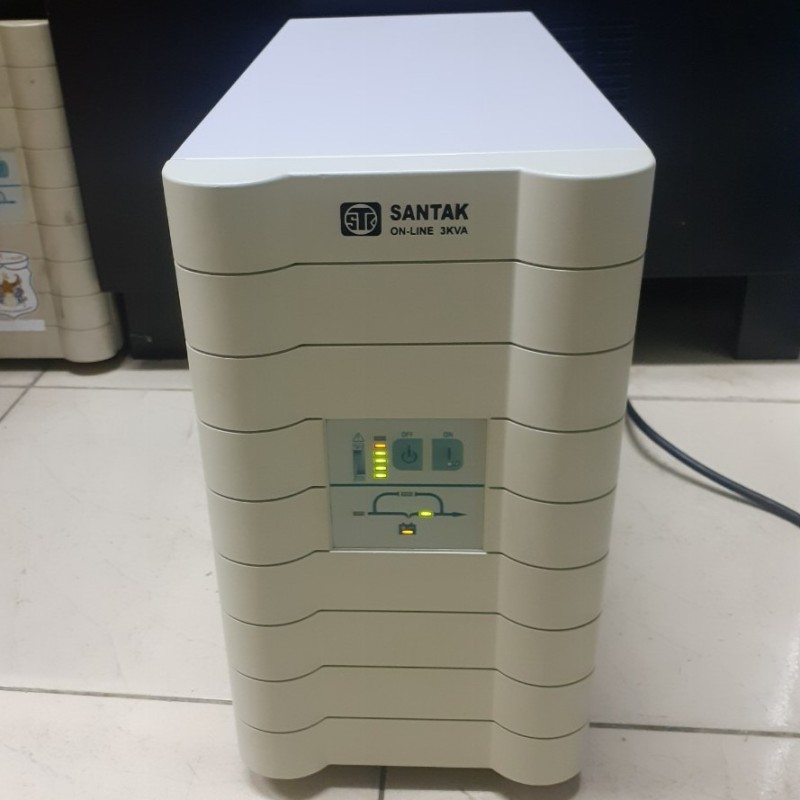 Bảng giá C3K - Bộ lưu điện (UPS) SANTAK Online 3KVA (bao gồm ắc quy - BH: 12 tháng) Phong Vũ