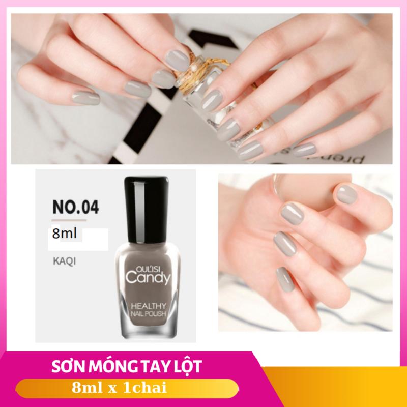 Sơn móng tay lột candy nail polish nhiều màu 8ml - SMT002