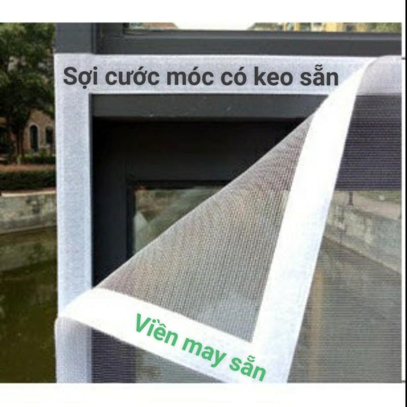 Lưới chống muỗi có viền may sẵn và keo dán sẵn
