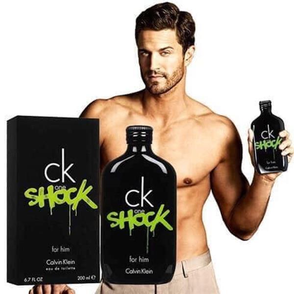 Nước hoa Nam Calvin Klein One Shock For Him - Ck 200ml EDT ( hàng auth ) mua tại Mỹ.