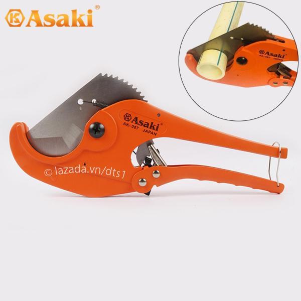 Kéo cắt ống nhựa PVC, PPR, PE Asaki AK-0087 63mm (Hạng nặng)