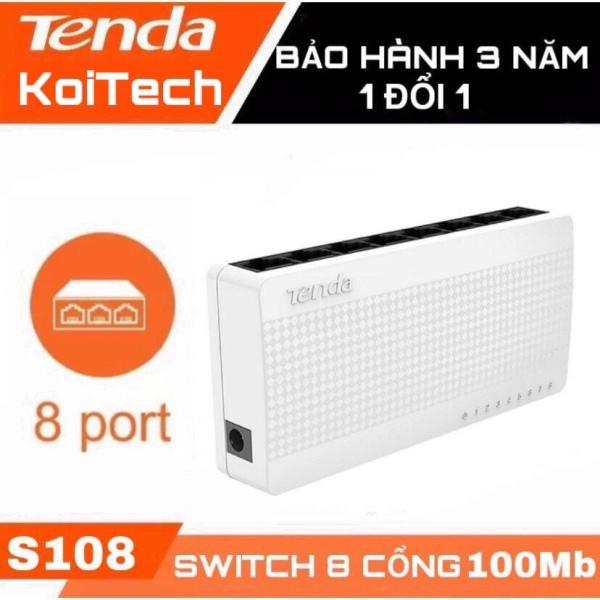 Giá Switch 8 port S108 Tenda 100Mbps DGW  - Bộ chia mạng 8 cổng
