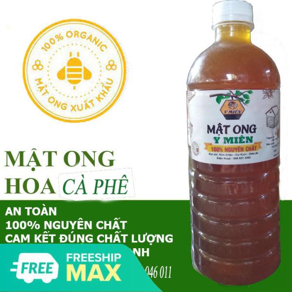 [GIÁ TRANG TRẠI] 1 LÍT (1300gr) Mật ong hoa cà phê Daklak nguyên chất- sản phẩm trực tiếp từ người khai thác ong