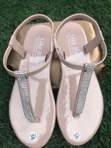 Giày Sandal Nữ Đính Hột ( Xưởng Nhà Làm ) giá rẻ