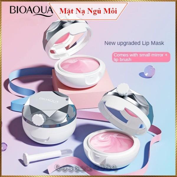 Mặt nạ ngủ dưỡng môi Bioaqua Strawberry Lip Mask giữ ẩm chống khô giảm nếp nhăn môi BSL2