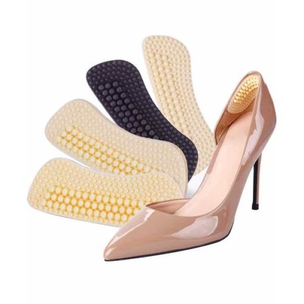 Dán gót giày 4D chống tuột gót giày trầy gót chân dán gót chân silicon cao cấp giá rẻ