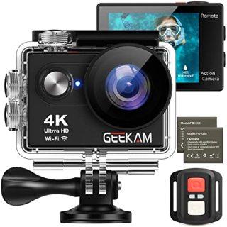 Camera hành trình 4K. Camera hành trình EKEN H9R PLUS chính hãng. Chống Nước Ngoài Trời HD Chống Rung Máy ảnh WIFI Kỹ Thuật Số 4K Action Cam thumbnail
