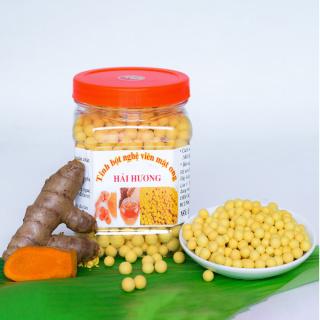 500gam Viên tinh nghệ mật ong Hải Hương ( tinhnghe, matong, nghệ mật ong, mật ong, dạ dầy, làm đẹp) thumbnail