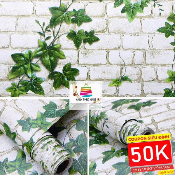 [HCM]10M GIẤY DÁN TƯỜNG SĂN KEO GẠCH Nhiều màu (45cm x 10m). Không thấm nước không độc hại hoàn toàn thân thiện với môi trường WallpaperHPM