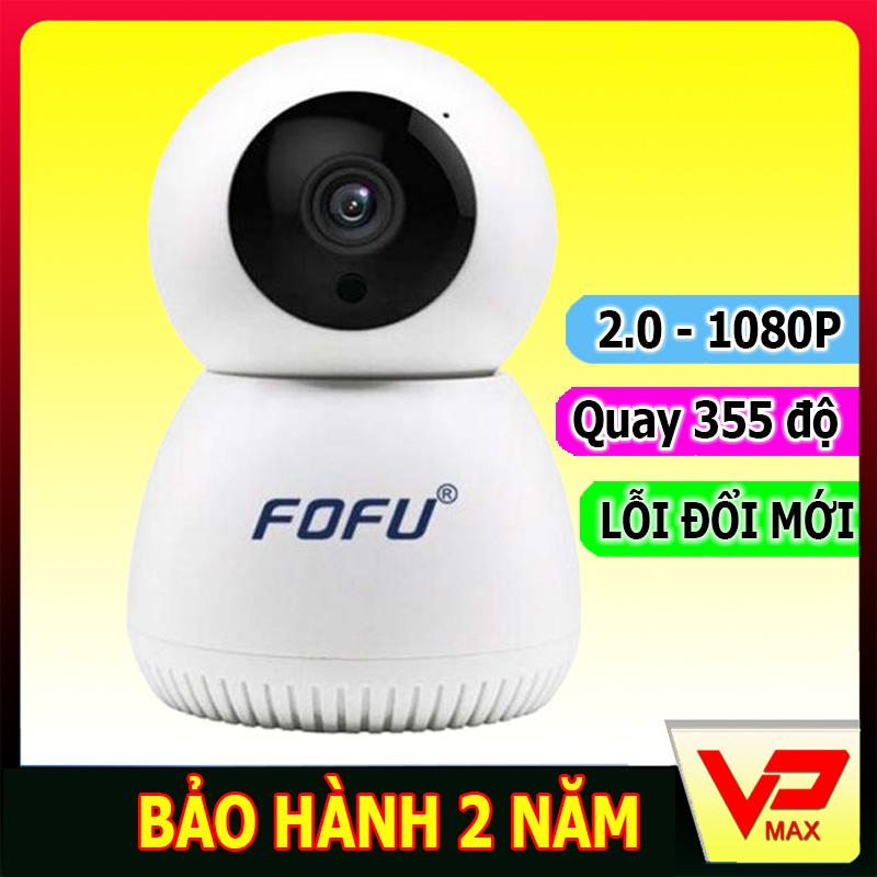 Camera IP WIFI an ninh chống trộm chính hãng FOFU FF-C3L 720P 1080P có chức năng đàm thoại, có khe cắm thẻ nhớ hỗ trợ lưu trữ tối đa 128GB