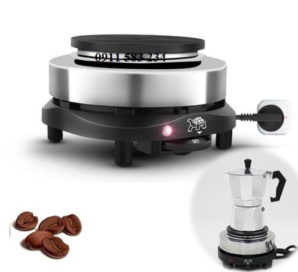 Bếp điện Mini 500w dùng cho ấm cà phê Moka