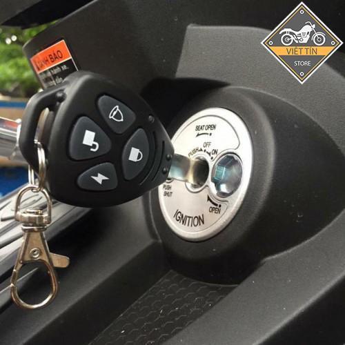 Khoá chống trộm xe máy lắp đặt trên mọi loại xe - Kmart