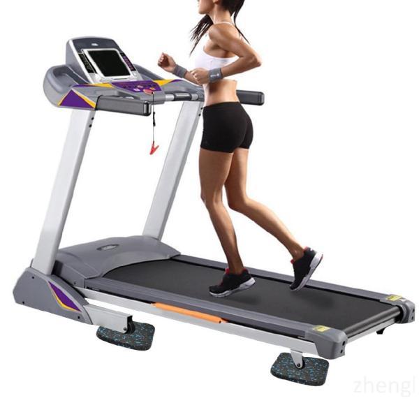 Máy chạy bộ Mat Dày Thiết bị tập thể dục Đệm cao su Chống sốc sàn MatlcZB1tP0