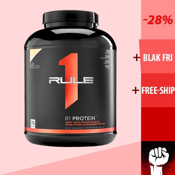 Rule 1 Protein | R1 Protein | Sữa Whey Tăng Cơ Giảm Mỡ Cho Người Tập Gym 5lbs 2.3kg - Chính Hãng giá rẻ