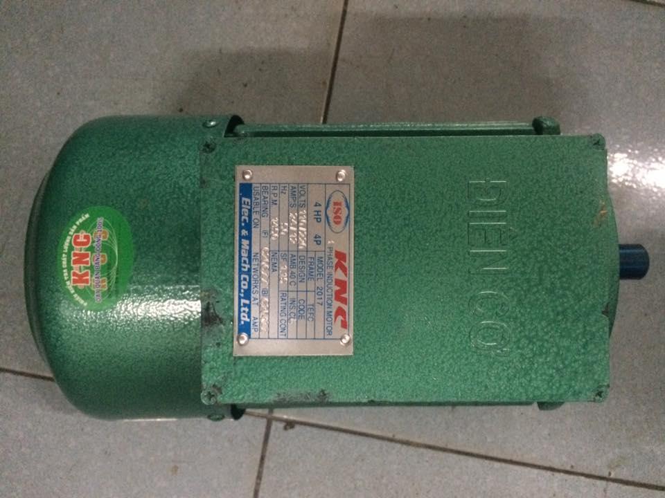 Động cơ điện 1 pha 4HP-3kw 220V (100% dây đồng)