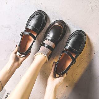Vintage Mary Janes Giày Nữ Nữ Giày Giày Đi Học Giày Búp Bê Cho Phụ Nữ Giày Ba-lê Đế Bằng Cho Phụ Nữ Trên Doanh Số Bán Hàng 110933