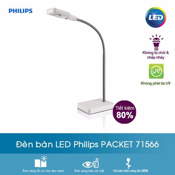 Đèn bàn - 71566- trắng - Philips