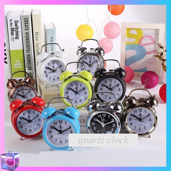 Nơi bán Đồng hồ báo thức cổ điển có chuông reo bằng kim loại sơn từ tính cao cấp ( Nhiều màu)