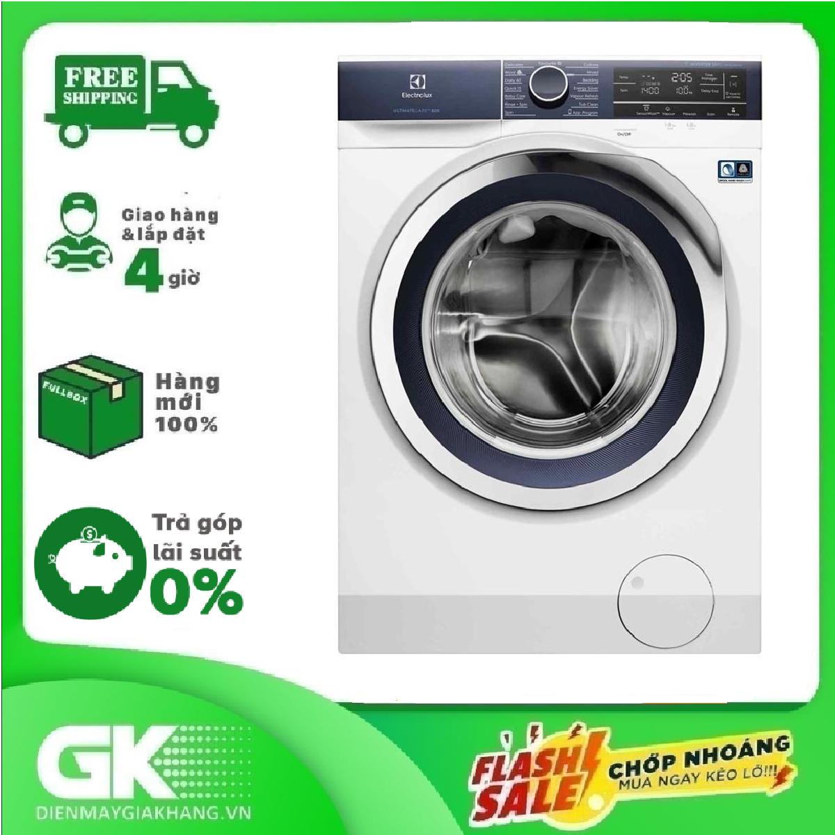 TRẢ GÓP 0% - Máy Giặt Electrolux 10.0 Kg EWF1042BDWA- Bảo hành 2 năm