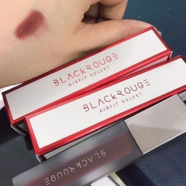 Son kem lì black rouge mịn môi Lì Black Rouge Mịn Môi Air Fit Velvet Tint Bad Rose tốt nhất