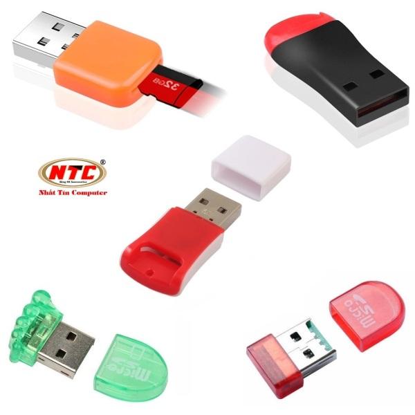 Bảng giá Đầu đọc thẻ nhớ NTC KT1618 MicroSD 2.0 (Mẫu ngẫu nhiên) - Nhất Tín Computer Phong Vũ