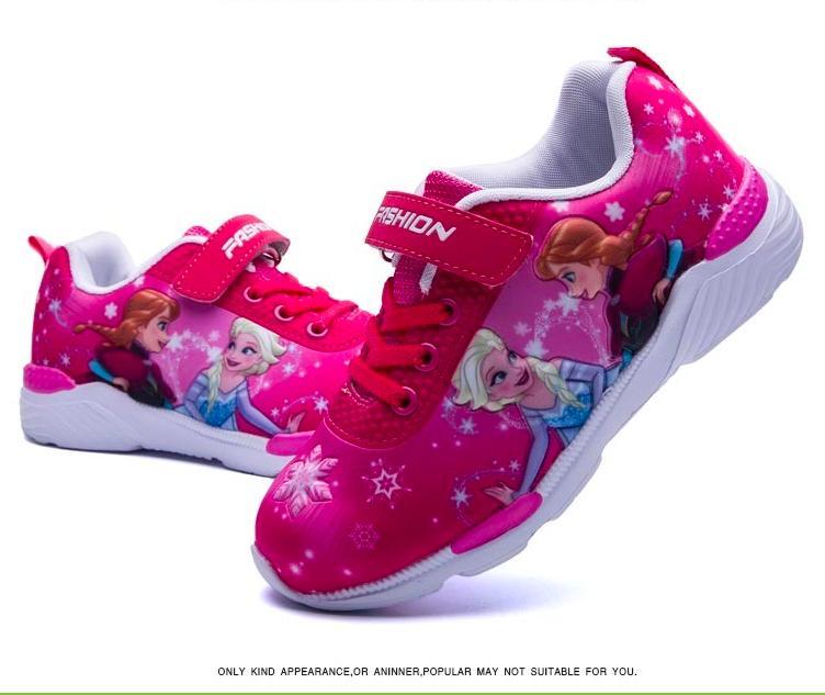 Giá bán Giày thể thao bé gái công chúa elsa từ 3 - 7 tuổi