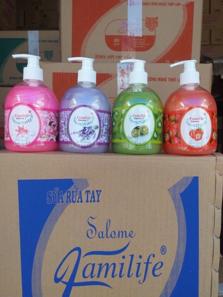 Nước rửa tay Salome Familife 500ml nhập khẩu
