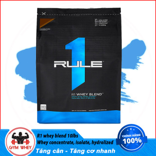 [Lấy mã giảm thêm 30%]Sữa Tăng Cơ Cho Người Tập Gym Rule 1 Blend 10lbs (4.5 kg) thumbnail