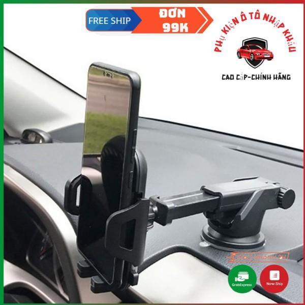 Giá đỡ điện thoại đa năng trên ô tô (2 trong 1) Để trên taplo + kính lái hàng cao cấp