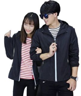 Áo khoác [ GIÁ RẺ ] áo gió nam nữ vải dù có nón cực xịn có khả năng chống nắng gió với chất liệu dù cán 2 lớp thumbnail