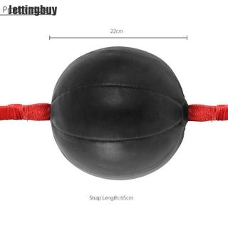 Jettingbuy Double End Boxing Tốc Độ Bóng Đấm Túi Dodge Tập Thể Dục Đào Tạo Da Pu Đen thumbnail