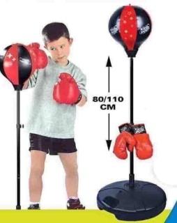 Bộ Đồ Chơi Thể Thao Đấm Bốc Boxing Chuyên Nghiệp Cho Trẻ Em 18X229 thumbnail