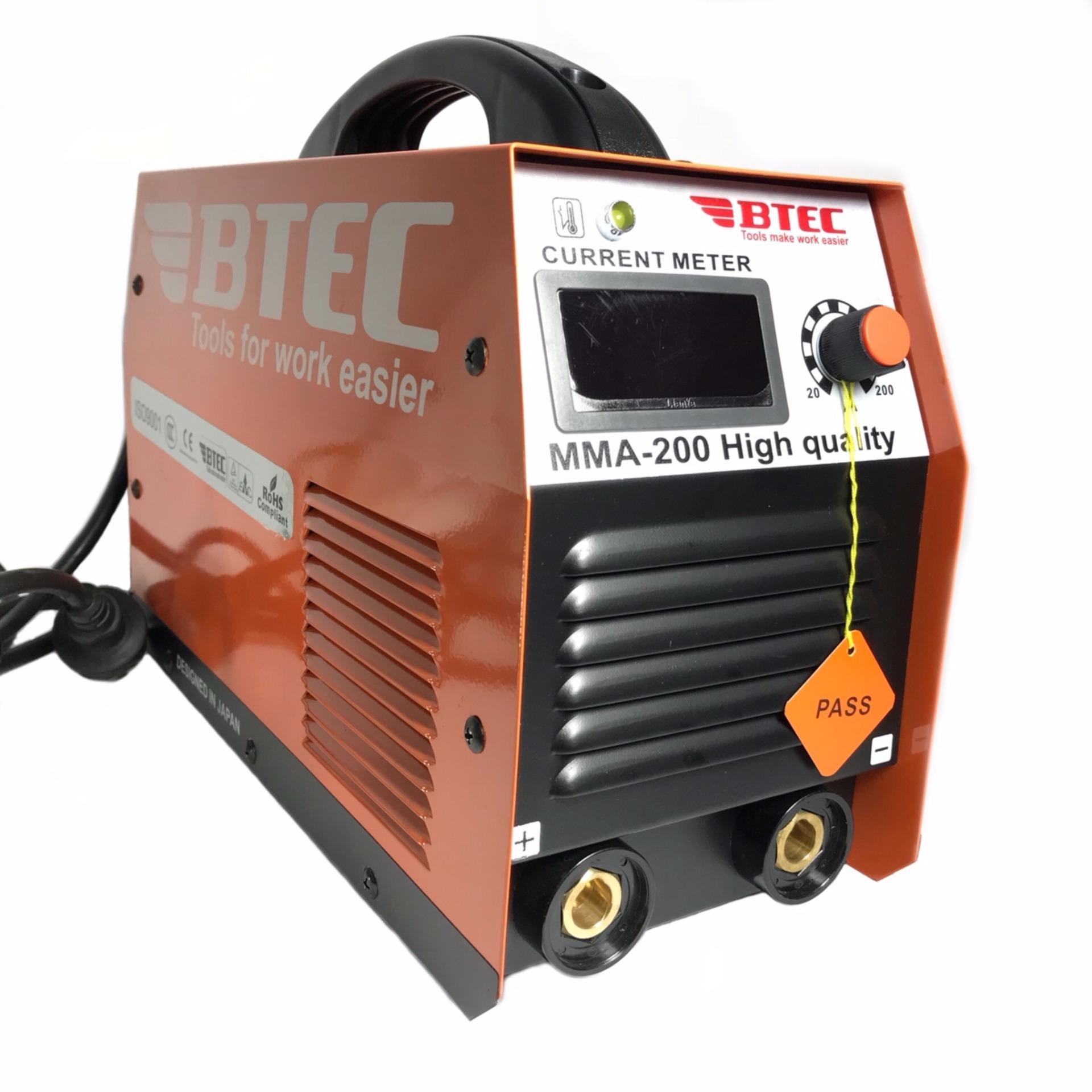 Máy hàn điện tử BTEC MMA-200 / xác lớn