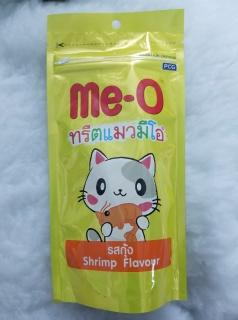 Snack bánh thưởng cho mèo vị tôm MeO Shrimp Thái Lan 50g thumbnail