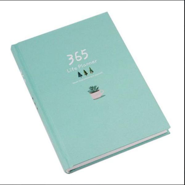 Mua Sổ Kế Hoạch Nhật Ký 365 Ngày Life Planner - Xanh Ngọc