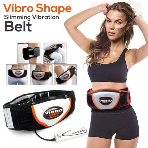Đai nóng Vibro Shape - Đai Massage Giảm Mỡ Bụng Nóng & Rung. Công Nghệ Quấn Nóng, Hiệu Quả Cao,Giảm Giá Cực Sốc