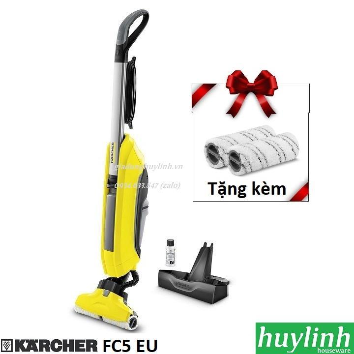 Máy hút bụi lau sàn Karcher FC5 EU - Tặng kèm cặp con lăn trị giá 490.000