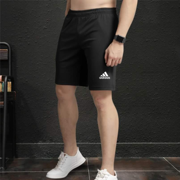 Quần short nam vải thun thể thao phom từ (45-80kg), Mã LT033